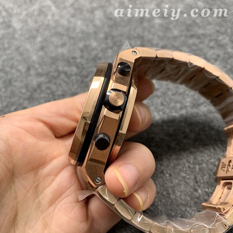 JF厂爱彼AP皇家橡树离岸型系列26470OR土豪金一比一复刻手表