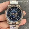 VS厂欧米茄海马系列220.10.43.22.03.001复刻手表 双时区功能