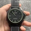 VS厂沛纳海PAM01118一比一复刻手表 全方位夜光 碳纤维表壳