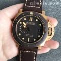 VS厂沛纳海PAM968青铜壳复刻手表 正品一表难求