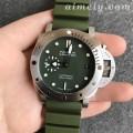 VS厂沛纳海潜行系列PAM1055军绿限量款复刻手表 42毫米表径适合亚洲人