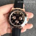 N厂劳力士玫瑰金迪通拿904L精钢陶瓷圈复刻手表