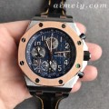 JF厂爱彼AP皇家橡树离岸型系列26471SR.OO.D101CR.01间金蓝盘复刻手表