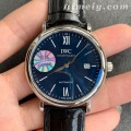 FK厂万国柏涛菲诺系列蓝面皮带版高仿手表