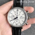 """TW厂万国柏涛菲诺计时系列""""150周年""""特别款白面复刻手表"""