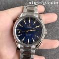 VS厂欧米茄海马150M系列里约奥运会纪念款蓝面复刻手表