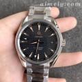 VS厂欧米茄海马150M系列里约奥运会纪念款灰面复刻手表