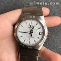VS厂最强欧米茄星座系列38毫米123.10.38.21.02.003男款菱形纹盘复刻手表