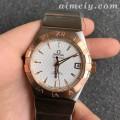 VS厂最强欧米茄星座系列38毫米123.20.38.21.02.008男款菱形纹盘精仿手表