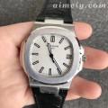 PPF厂百达翡丽PP鹦鹉螺5711白面皮带款复刻手表