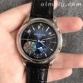 GR厂百达翡丽复杂功能系列5205蓝面高仿手表