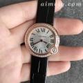 V6厂卡地亚白气球女款复刻手表 瑞士朗达石英机芯
