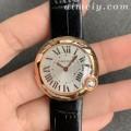 V6厂卡地亚白气球女士石英精仿手表