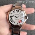 V6厂卡地亚蓝气球42毫米玫金圈复刻手表