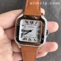 V6厂卡地亚山度士WSSA0010女士复刻手表