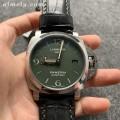 VS厂沛纳海pam1056军绿色一比一高仿表 金针与绿盘